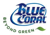 blue coral beyond green